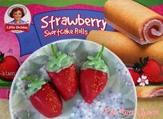 Strawberry Shortcake strawberries by Pint-Sized Baker!