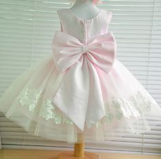 Beautiful first birthday dress but in different colours... maybe white and red?