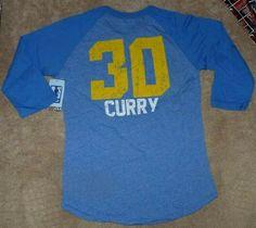 97a9fbb94 NEW NBA Stephen Steph Curry Golden St State Warriors Women Jersey T Shirt  XS NWT