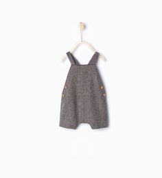 Romper suit with braces-Outfits & romper suits-Mini   0-12 months-KIDS   ZARA United States
