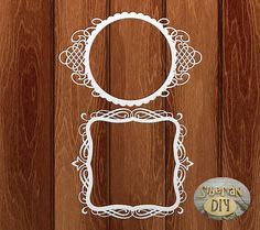 """Laser Cut Chipboard """"Collection Of """"Premium"""". Frame Inspiration"""""""