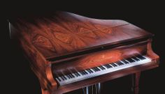 A Crown Jewels Sapphire grand piano from Steinway & Sons