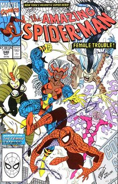 The Amazing Spider-Man (Vol. 1) # 340