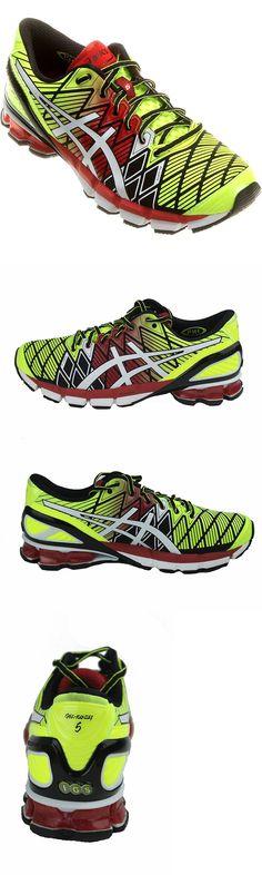 Men Shoes: Asics Men S Gel-Kinsei 5 Running Shoes, Black White Red -> BUY IT NOW ONLY: $86.95 on eBay!