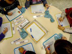 Quelques activités autour du prénom dans ma classe de moyenne section: En tout début d'année, il est intéressant de savoir si les enfants... Petite Section, French Immersion, Activities, Education, Games, School, Journal, Kids, Cycle 1