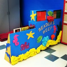 Reader's Reef (Ocean Themed Reading Nook)