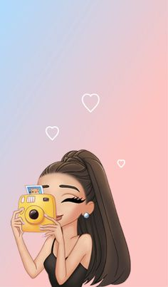 Amo a ariana grande soy su super fan ❤❤❤❤ Cute Disney Wallpaper, Emoji Wallpaper, Wallpaper Iphone Disney, Cute Cartoon Wallpapers, Cute Wallpaper Backgrounds, Tumblr Wallpaper, Girl Wallpaper, Wallpaper Ipad Mini, Phone Backgrounds
