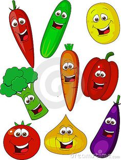 Art Room Doors, Vegetable Coloring Pages, Vegetable Cartoon, Veggie Art, Food Clips, Fruits For Kids, Scrapbook Background, Hygiene, Kids Prints