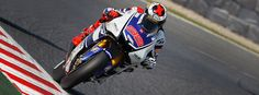 Lorenzo lays down the law at Catalunya. In the second practice session at the Gran Premi Aperol de Catalunya it was local rider Jorge Lorenzo who set the fastest time of the day in sunny conditions ahead of a resurgent Álvaro Bautista.