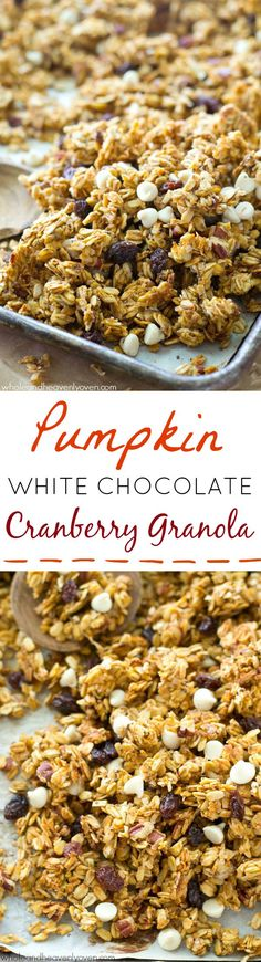 This crisp, cluster-y granola has a delightful fall twist of pumpkin ...