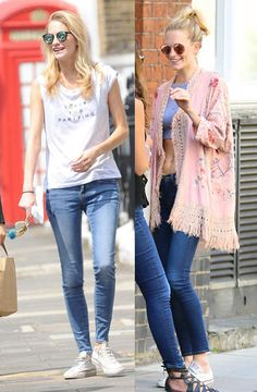 Converse are making a fashion comeback this summer: wear them like Poppy Delevingne - LaiaMagazine