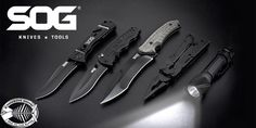 SOG Knives, Multi-tools, and More Brand new 2017 SOG in stock now! Pin It :-) Follow Us :-)) fishboneknives.com is your knife Gallery ;) SEE A LARGER SELECTION of knives at fishboneknives.com/... - hunting, folding knife, camping knives, fishing, outdoors, boning, fillet knives, Buck, Dexter Russell, Bubba Blade, ....more SAVE EXTRA 20% off with code PIN20