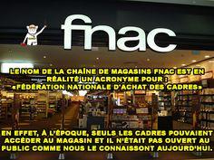 """Que veut dire """"FNAC"""" ? 🤔"""
