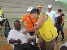 Yonkers Millennium #LionsClub (NY, USA) provided eye exams, cataract surgeries and eyeglasses in the Dominican Republic with cooperation from Club Leones de Romana Centro