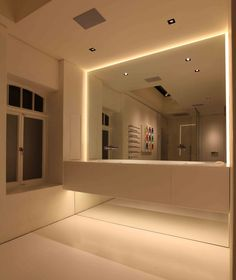 Bathroom Lighting Design by John Cullen LightingEven Glow series LED Linear Light Bar Fixture   LED Strip Lights  . Luminary Lighting John Kent. Home Design Ideas