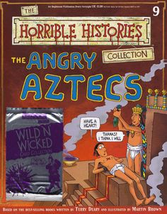 Angry Aztecs from Horrible Histories Magazine FREE online