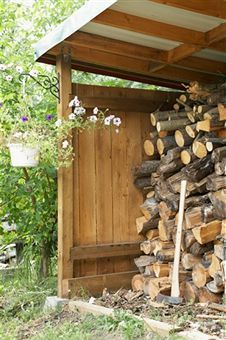 Firewood Shed.