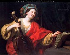St. Cecilia - Anton Raphael Mengs - pinterest