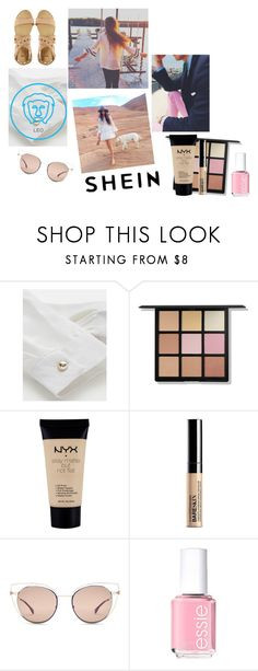 """""""be happy and enjoy"""" by lareine-mina ❤ liked on Polyvore featuring NYX, Fendi, Essie and ASOS"""