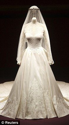 Kate Middleton's Wedding Dress -by Sarah Burton for Alexander McQueen