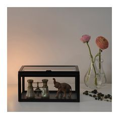OKÄND Box IKEA The decorative box can be used to display your favorite small items.