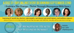 """Change Begins Today!"" Register for a Free Online Women's Health Summit!"