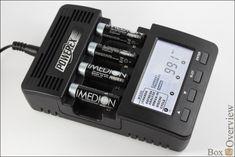 Maha MH-C9000 — анализатор, заряжатор и восстановлятор для Ni-MH/Ni-Cd аккумуляторов