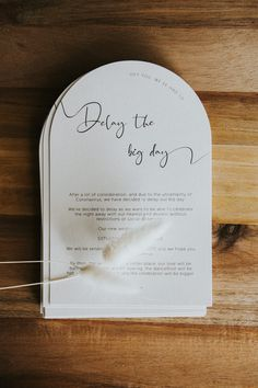 Hint or Holler created custom Delay the day cards for this gorgeous couple to match their wedding invitations Big Day, Wedding Invitations, Couple, Cards, Wedding Invitation Cards, Maps, Playing Cards, Couples, Wedding Invitation
