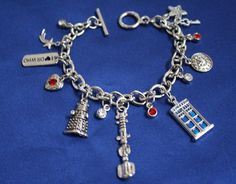 Dr Who Charm Bracelet Doctor Who (1b) #Handmade #Traditional