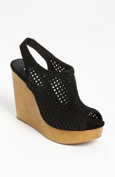 Steve Madden 'Syrrus' Wedge Sandal available at #Nordstrom  also in coral and white