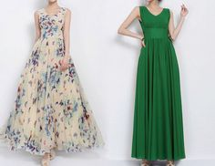 Frauen Boho Beach Long Prom Kleid Maxi Kleid  von MissJuan auf DaWanda.com