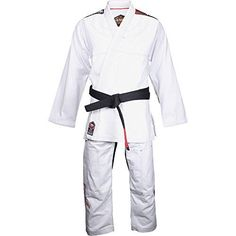 The Venum 'Challenger 2.0' BJJ Gi uses the best Pearl Weave cotton on the market. The 410 GSM (gram per sq meter) Pearl Weave jacket is making the suit light whilst resistant.The pants feature a trian...