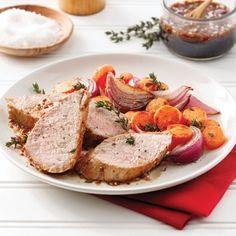 Filet de porc érable, miel et balsamique - Soupers de semaine - Recettes 5-15 - Recettes express 5/15 - Pratico Pratique