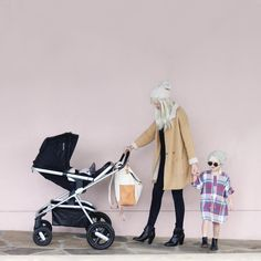 Stroller - Nuna IVVI // Diaper Bag - Leader Bag Co. // Fox Softie - Petit Pippin // Ry's Dress - Ladida There are A LOT of overpriced diaper bags on the market, most of which I would never consider...