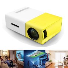 Full HD Ultra Portable Mini Projector.