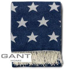 Gant Plaid Star All Over blau