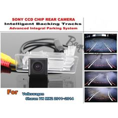 (54.20$)  Buy here - http://aiq89.worlditems.win/all/product.php?id=32455519975 - For Volkswagen VW Sharan 7N MK2 2011~2014 Intelligent Car Parking Camera / with Tracks Module Rear Camera CCD Night Vision