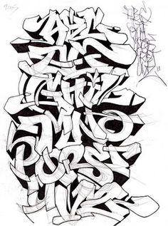 3d bubble letters 3d graffiti alphabets foto wallpaper 01 foto graffiti alphabets a z sketch altavistaventures Image collections