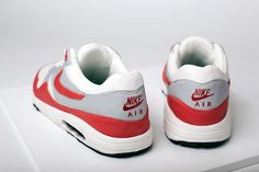 Nike Air Max 1 OG Red cake by Michelle Wibowo for The Daily Street