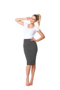 Betty Basics Alicia Midi Skirt By