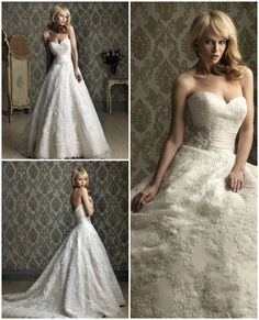 Allure Wedding Dress Style Style 8850, Available at Perfection Prom & Bridal, in Size 12, available in other sizes to order.