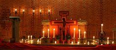 | Taizé-altare i Kista kyrka