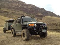 OFF-Road with a teardrop