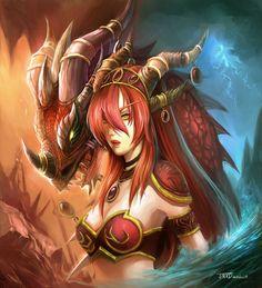 Alextrasza by ~JMXD - World of Warcraft