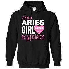 This Aries girl loves her boyfriend t-shirt