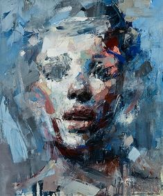 Ryan Hewett ~ Beneath It All (oil)