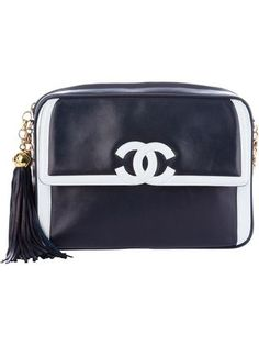 【CHANEL シャネル】 VINTAGE chain shoulder bag バッグ