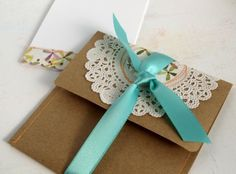 Note Set handmade envelope and notecard by psitsinthedetails Card Crafts, Paper Crafts, Invitation Ideas, Invitations, Craft Projects, Projects To Try, Handmade Envelopes, Envelope Punch Board, Paper Doilies
