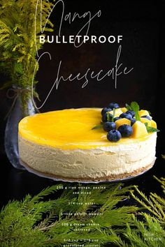 This easy no bake mango cheesecake is loaded with the sweet aroma and flavor of fresh mango purée. Healthy Dessert Recipes, Baking Recipes, Delicious Desserts, Yummy Food, Mugcake Recipe, Cheescake Recipe, Mango Recipes, Sweet Recipes, Juicer Recipes