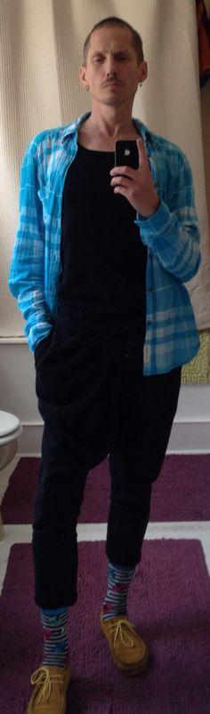 Shirt: H&M /Vest: Primark /Harem-joggers: Zara /Socks: Primark /Shoes: Hawksmoor ladieswear